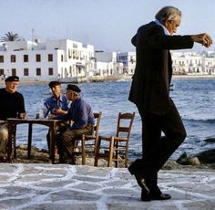 are born to dance 🇬🇷 Mykonos Greece, Athens Greece, Mykonos Town, Zorba The Greek, Wolves And Women, Anthony Quinn, Greek Culture, Dance Photography, Mediterranean Style