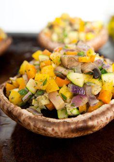 Dit recept is terug te vinden in De dikke vegetariër op bladzijde 397 in het hoofdstuk 'Groente en fruit'.