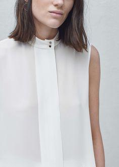 Blouse fluide - Chemises pour Femme   MANGO France