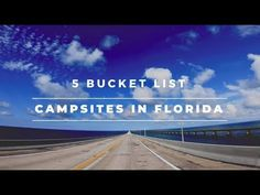 These campsites are perfect for Florida camping and RV travel, these are 5 bucket list campsites in Florida you need to put on your summer bucket list! Florida Camping, Rv Camping, Campsite, Bahia Honda State Park, Summer Bucket Lists, Rv Travel, Outdoor Life, State Parks, Camping