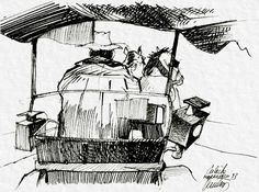 vautrin carnets de voyages | Maghreb