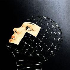 woman head (illustration)