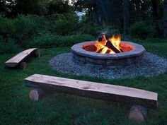 DIY Backyard Fire Pit Ideas On a Budget Fire pits are created from many kinds of materials. A fire pit may also serve as an important focus in your outdoor landscape design.