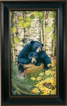 Cabela's: Love Bears Personalized Print - Must get this for camp bedroom!