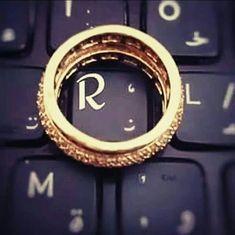 Letter R ♥ keyboard key R Letter Design, Alphabet Letters Design, Alphabet Images, Cute Letters, Picture Letters, Flower Letters, Letter Art, Letter Logo, Alphabet Wallpaper