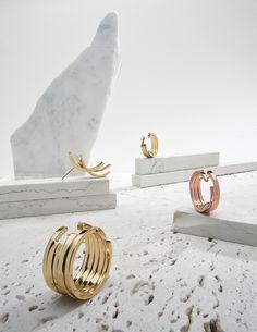 Torque Earring - Tilda Biehn