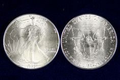 The American Silver Eagle is the official silver bullion coin of the United States. First issued in November of 1986, the coin was originally released as part of the American Eagle Bullion Program. This program was designed to utilize the national stockpile of both silver and gold. A bullion coin is valued by its weight in a specific precious metal.
