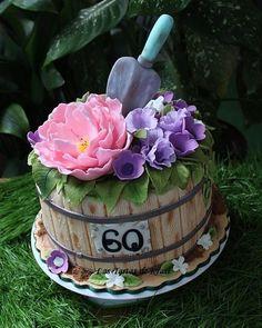 cake for my mother by Las Tartas de Krasi