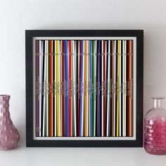 personalised record collection print / lp music collection - your own choice of albums! print or canvas. Unique personalised gift idea for a music lover. #elevencorners #musiccollection #vinyl #musiclover #wallart