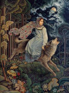 """""""Волшебная матрешка"""", иллюстрации Лорел Лонг"""