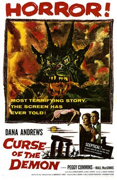 Curse of the Demon #horror