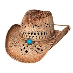 """Lost in Love - Raffia Straw Cowgirl Hat"" ... A perfect accessory to go with the boots. :-)"