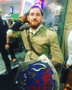 #cosplay #link #thelegendofzelda #sdcc2016