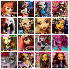 Monster High Printable Magazine Covers