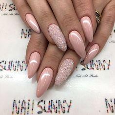 ✨ & on my ig: ❤ pretty nails, sexy nails, Sexy Nails, Prom Nails, Nude Nails, Trendy Nails, Rose Gold Nails, Metallic Nails, Fancy Nails, Black Nails, Coffin Nails