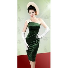 df9f4d72a45 Bettie Page Clothing Emerald Pencil Cocktail Dress Bettie Page Clothing