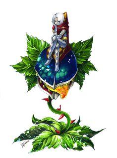 The Legend of Zelda: Skyward Sword / Ghirahim and Deku Baba / 「ギラヒムさまとデクババさん」/「火龍」の漫画 [pixiv]