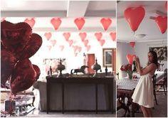 balões decoração para cha de panela!.
