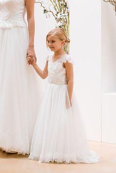 Modele robe ceremonie fillette