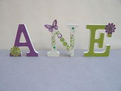 "Letras decoradas ""ANE"""