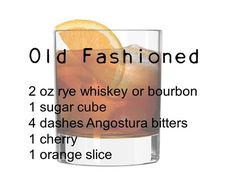 Old Fashioned | 10 Awesome Mob Cocktails