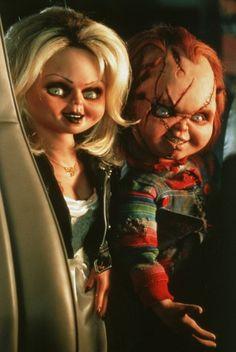 Bride of Chucky #Chucky #Tiffany for like Chucky Chicken MOFO Charles as Kakoli lol