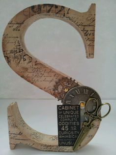 letras decoradas steampunk