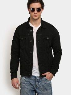 abof Men Black Smart Fit Denim Jacket All About Fashion, Denim, Fitness, Jackets, Black, Down Jackets, Black People, Jacket, Jeans