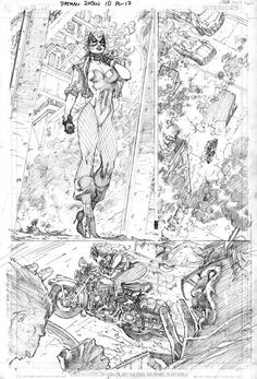 All-Star Black Canary pencils/Search//Home/ Comic Art Community GALLERY OF COMIC ART