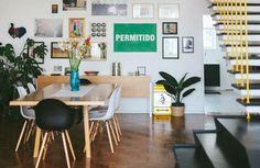 Histórias de casa: apê de 200 m² todo colorido pertinho do Minhocão - CasaClaudia