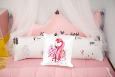 Excited to share the latest addition to my #etsy shop: Flamingo Art Print Pillow - Splatter Ink Art Cushion by Corrina Holyoake - Gift Idea - Bird theme - Home Decor - Bespoke designs on request https://etsy.me/2mhhJok #housewares #pillow #pink #cotton #patiooutdoor