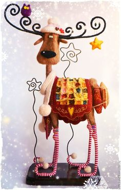 1 million+ Stunning Free Images to Use Anywhere Christmas Vases, Christmas Moose, Christmas Sewing, Felt Christmas, Holiday Ornaments, Christmas Time, Ornament Crafts, Xmas Crafts, Christmas Projects