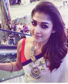 Nayantara adorns Amrapali Jewelry.