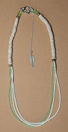 CHRISTMAS SALE! Ostrich Egg Shell White and Mint Beaded by marinebluetreasures, CHF45.00