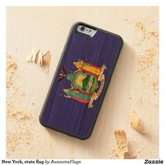 New York, state flag Cherry iPhone 6 Bumper