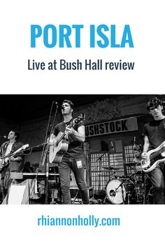 #PortIsla got the #Bushstock party started at #BushHall with their energetic and catchy blend of #indie, #folk and #pop. Read the #review on #soundandfiction
