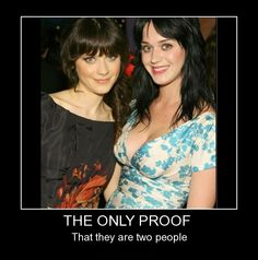 The Only Proof That They are Two People