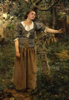 Jules Bastien-Lepage (Jules Bastien Lepage) (1848-1884) Joan of Arc - detail 1