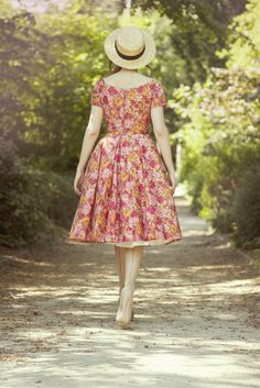 Nothing makes a woman feel pretty like a floral printed dress...or a lace dress ;)