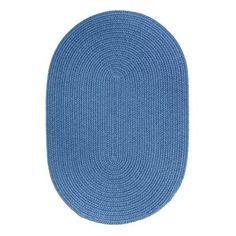 The Conestoga Trading Co. Handmade Blue Indoor/Outdoor Area Rug Rug Size: Runner 2' x 8'