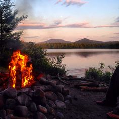 There's nothing better than a campfire in the Adirondacks! For more information about great camping spots, visit http://www.adirondack.net/adk/camping.cfm. Photo credit to Dakota Lee Higbie.