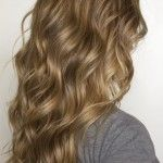 Side View of Lowlighted Long Flowing Casual Waves