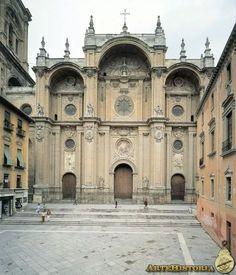 Alonso Cano. Catedral de Granada. Fachada (1664)