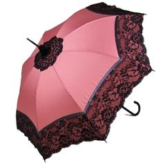 Pasotti Italian Umbrella - Pink Lace