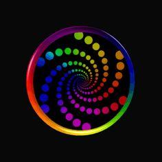 Hypnotic Dot Spiral by Sookie by sookiesooker
