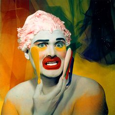 Leigh Bowery 3 Leigh Bowery, photographed by Werner Pawlok, artist, performance… Punk Rock Fashion, Queer Fashion, Tomboy Fashion, Tomboy Style, Leigh Bowery, Tomboy Outfits, Emo Outfits, Hunger Magazine, Scissor Sisters