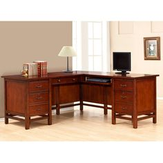 "L-Desk with Right Return - 68.5""W 