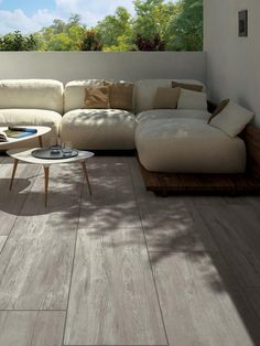Oak Wood Effect Vitrified Porcelain Paving Slabs - Patio Slabs