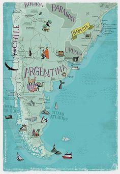 Mundo dos Mapas : Photo Argentina Buenos Aires Accédez à notre site beaucoup plus d'informations https://storelatina.com/argentina/travelling #viajar #travelargentina #viaje #argentinatravel