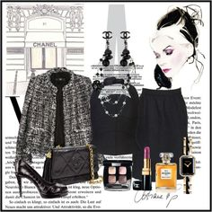 """""""Love CHANEL"""" by gangdise on Polyvore"""